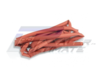 Gaine thermo-rétractable rouge 5mm 1m