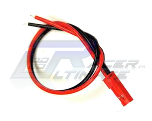 JST plug male with wire AWG22 10cm