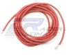 Red silicone wire AWG14 1m