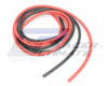 Black and red silicone wires AWG14 1m