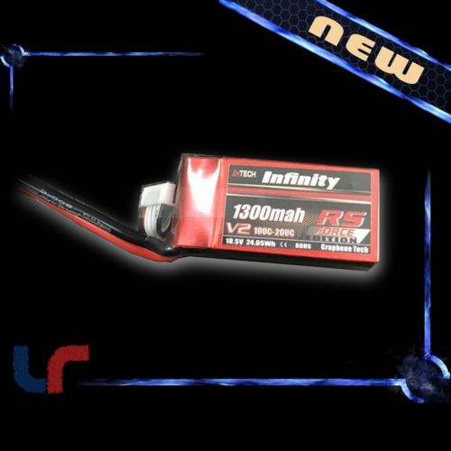 Lipo INFINITY 5S 1300mAh 100C RS Force Edition v2