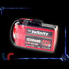 Lipo INFINITY 4S 1550mAh 100C RS Force Edition V2 Square